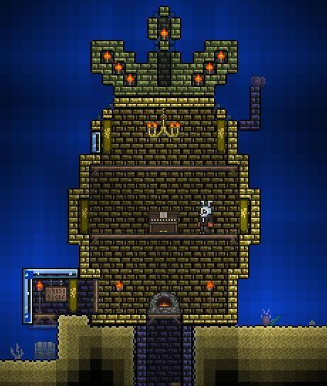 Minecraft House Designs Ideas Latest Version Apk: 18 Best Images About Terraria Bases On Pinterest