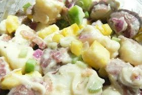 Mrs.4444 Cooks: Paula Deen's Red Potato Salad with Bacon