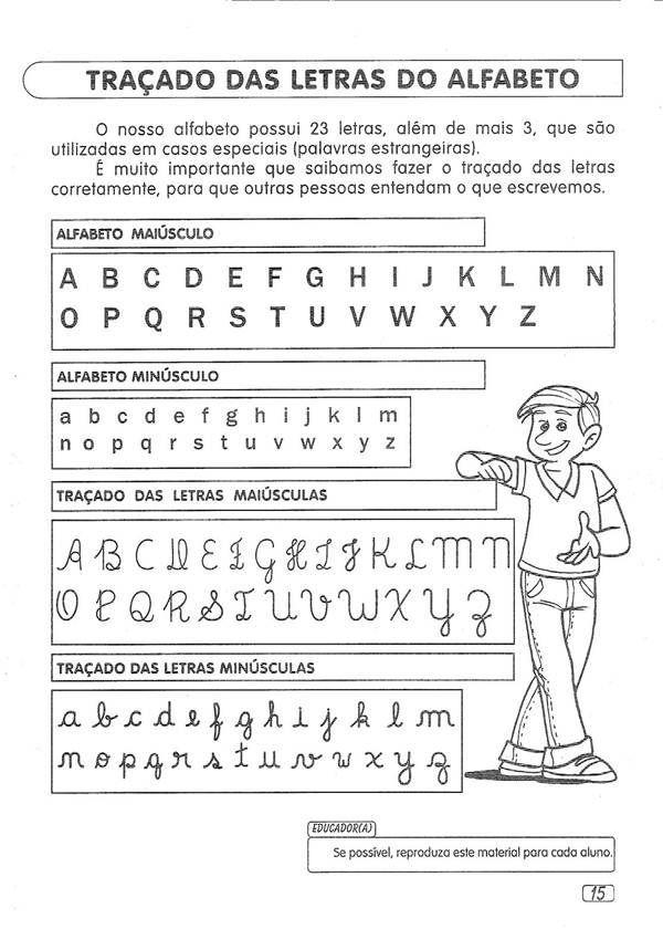 Resultado De Imagem Para Letras Tracadas Do Alfabeto Atividades