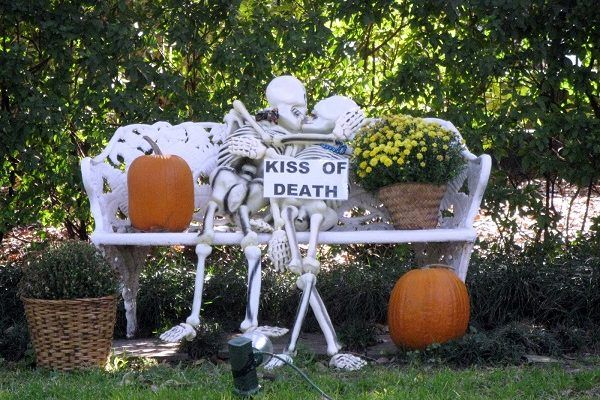 We are going to help you with following Halloween Skeleton Decorations ideas. So stick to them if you want so spook up your neighbor.