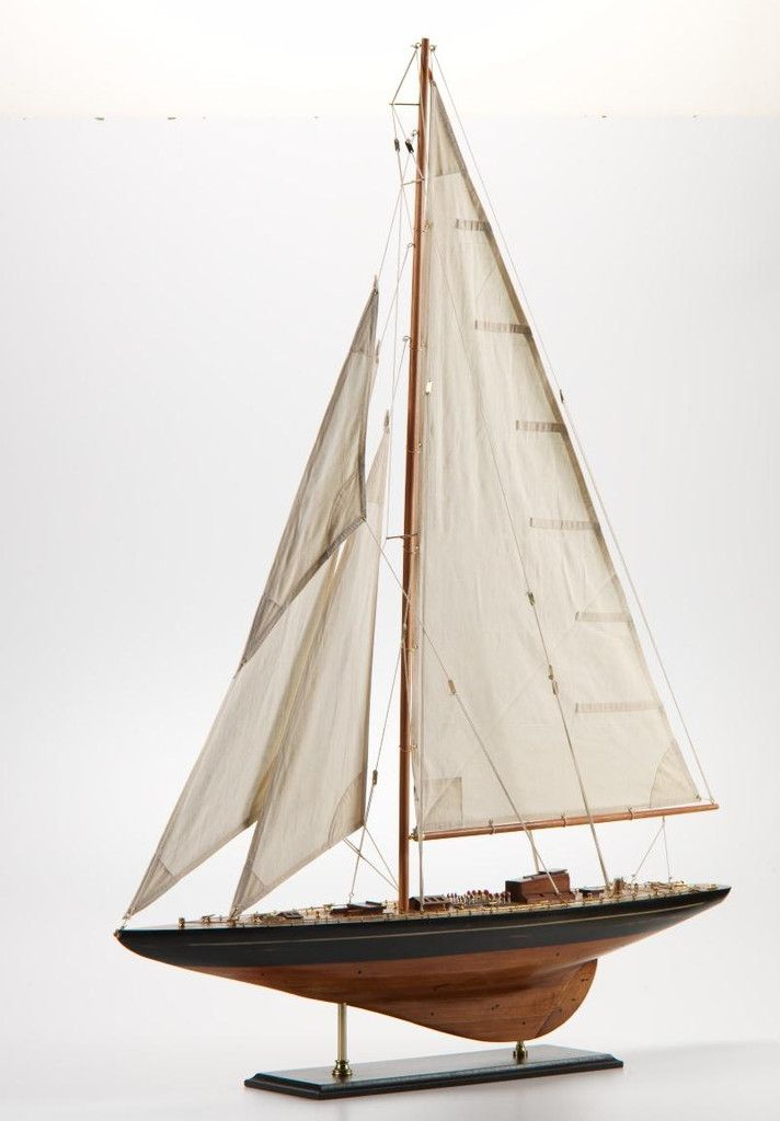 Large Wooden Model Sailboat Carlyle Avenue Home Decor Pinterest And Sailboats