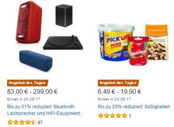 """Amazon: Süßwaren, Nüsse und Popcorn für einen Tag rabattiert https://www.discountfan.de/artikel/essen_und_trinken/amazon-suesswaren-nuesse-und-popcorn-fuer-einen-tag-rabattiert.php Viele Kalorien für wenig Geld: Bei Amazon ist ab jetzt für einen Tag """"Knabbergebäck im Osterangebot"""" zu haben. Mit dabei sind Nüsse, Popcorn sowie zahlreiche süße Artikel. Amazon: Süßwaren, Nüsse und Popcorn für einen Tag rabattiert (Bild: Amazon.de) Die Süßwaren mit O"""