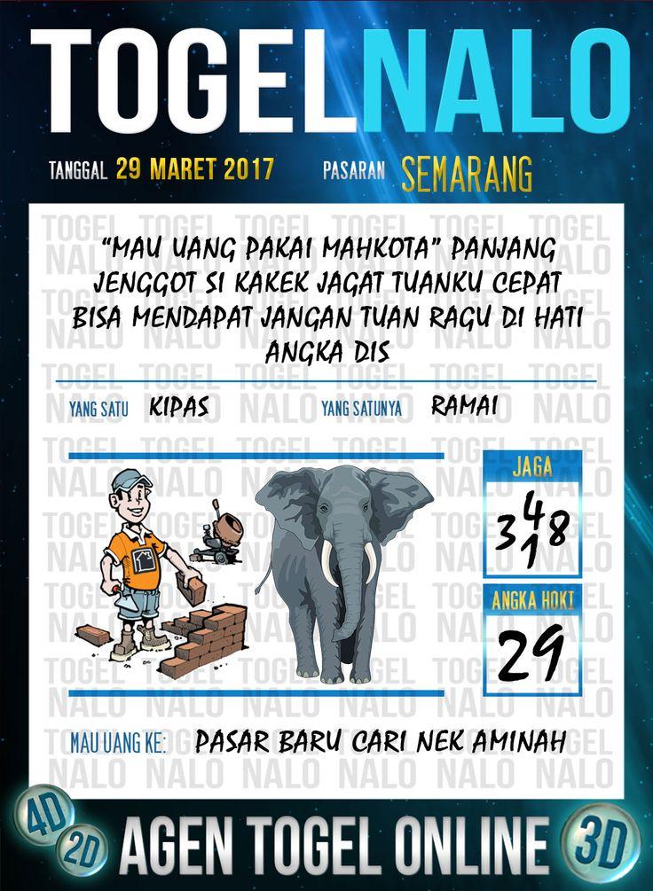 Kode Jitu 6D Togel Wap Online TogelNalo Semarang 29 Maret 2017