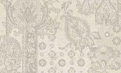 Tapet vinil gri argintiu floral PC 2704 Grand Deco Persian Chic