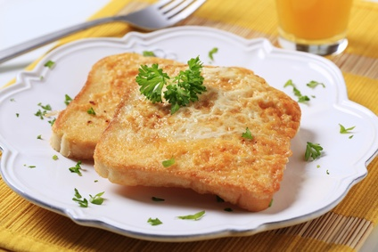 'Eggy Bread' ~ (not French Toast) and no sugar please ~ just eggs, butter, salt and pepper; traditionally speaking.