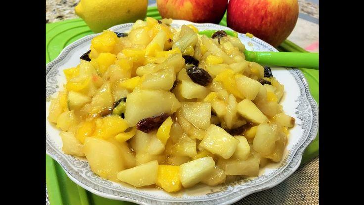 Изумительная НАЧИНКА ИЗ ЯБЛОК  для Пирожков и Пирогов. Filling of Apples.