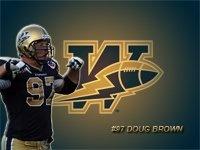 #97 Doug Brown ~Winnipeg Blue Bombers Defence