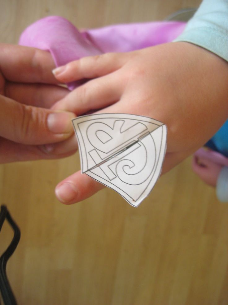 Paper CTR Rings - free printable and how to do photos -Tabbygram