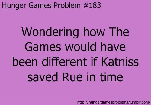 Rue would have still died, because the careers would stop at nothing to unhinge Katniss, and i believe Cato would have killed her.