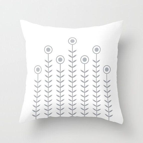 36 colours Minimalist Flowers Decorative Pillow Cover