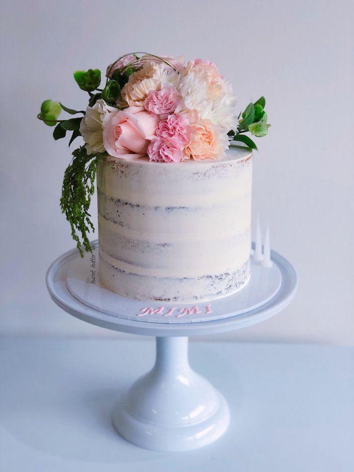 1001 Ideen Fur Die Schonste Torte Zur Taufe Und Praktische Tipps Fur Babys Grossen Tag Schone Torten Torte Taufe Blumen Torte
