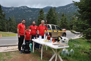 'Εν  Δαδίω ...: Φωτογραφίες εθελοντών και αθλητών μας στην τοποθεσ...