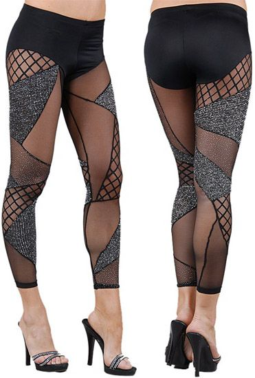 PoshTheSocialite: Eva Marcille Stylin' in Brian Lichtenberg Silver Glitter Leggings and Gucci Platform Booties