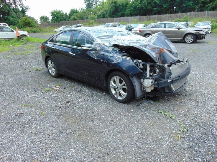 Serious damage 2012 Hyundai Sonata repairable