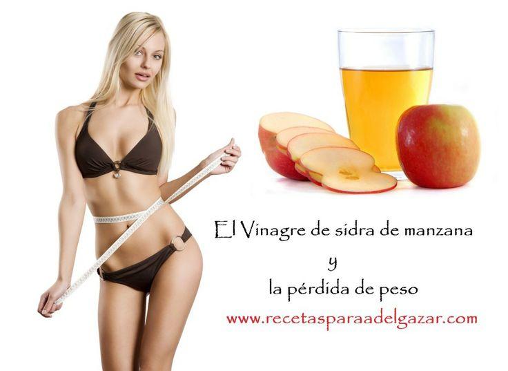 El vinagre de sidra de manzana y la pérdida de peso | Recetas para adelgazar