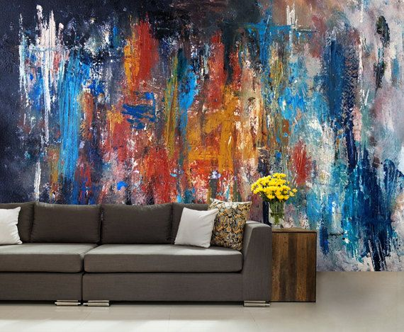 Pleasing 3D Abstract Mural Abstract Wall Mural Color Wall Mural Home Interior And Landscaping Staixmapetitesourisinfo