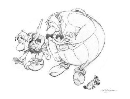 Hommage d'Uderzo à Charlie Hebdo@asterixofficiel
