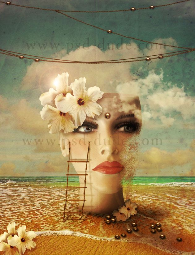 Best Surreal Art Ideas Images On Pinterest Photoshop Effects - Photographer uses photoshop to create surreal dreamy composite images