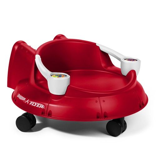 radio flyer spin n saucer ride ons for our youngest