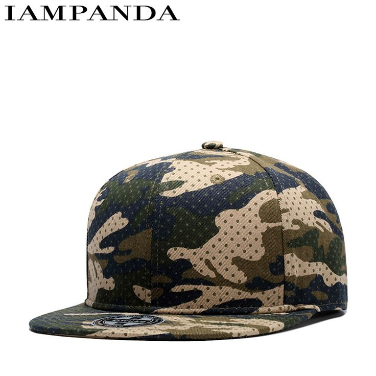 Dance Hall cotton Light Panel Hip Hop Hat Male Ma'am Spring And Summer Cotton. Camouflage Circle Point Baseball Hat Plain Cap