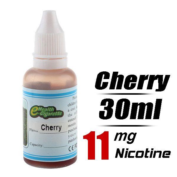 Quit Smoking 30ml Flavor strength Medium 11mg/g Electronic Cigarette Liquid (Cherry) - Harmless top quality nicotine free e-cigarettes shipp...
