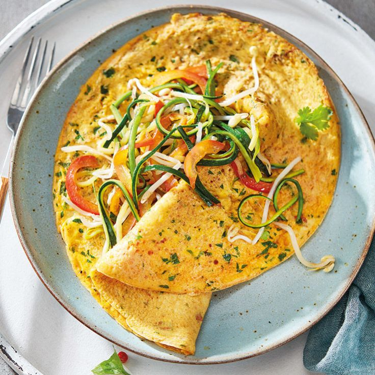 Aziatische omelet #WeightWatchers #WWrecept #zeroPoints