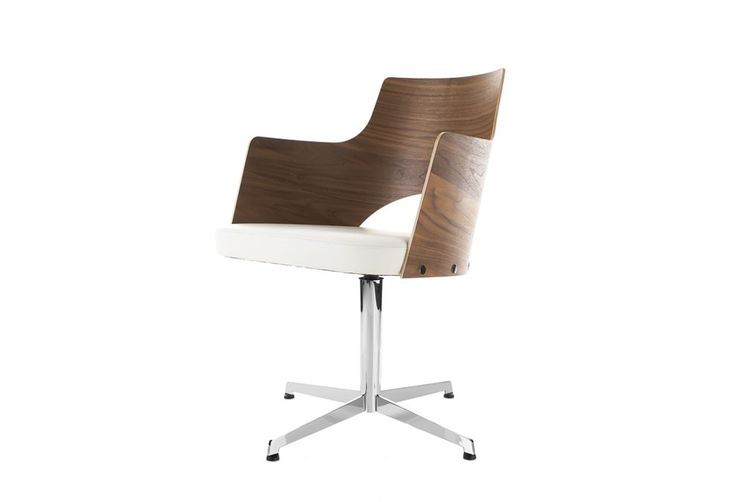 Fauteuil de bureau Cortina Allard, Gunilla : Meubles design Lammhults - Design Ikonik