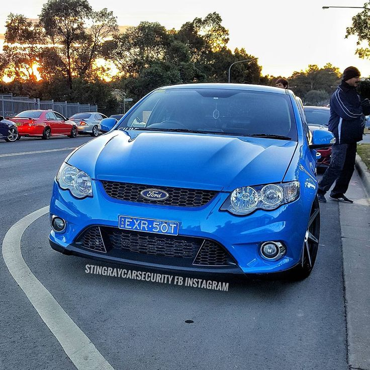 """257 Likes, 7 Comments - Fg/x Bseries Gauge Mounts (@stingraycarsecurity) on Instagram: """".bam that blue is sexy but maybe Im a bit biased? Andrews xr6t tuff as !!❤"""""""