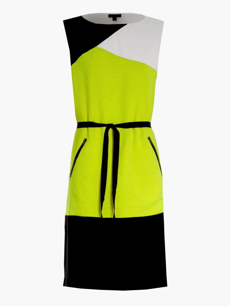 Howard Showers - Brighton Colourblocked Day Dress in Acid, $229.00 (http://shop.howardshowers.com.au/brighton-colourblocked-day-dress-in-acid/)