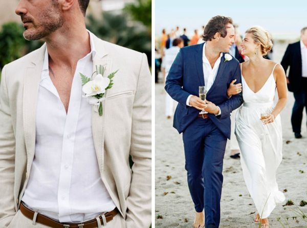 20 Beach Wedding Looks For Grooms Groomsmen Southbound Bride