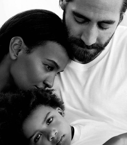 Jake Gyllenhaal is the new face of Calvin Klein Eternity, and he starred in a Cary Fukunaga-directed commercial where he and his wife, played by Liya Kebede, take turns reciting the poetry of E.E. Cummings to their little daughter. It is peak perfume commercial. While some of you may get the vapors
