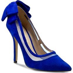 Szpilki MENBUR - 06133 Dazzling Blue X666