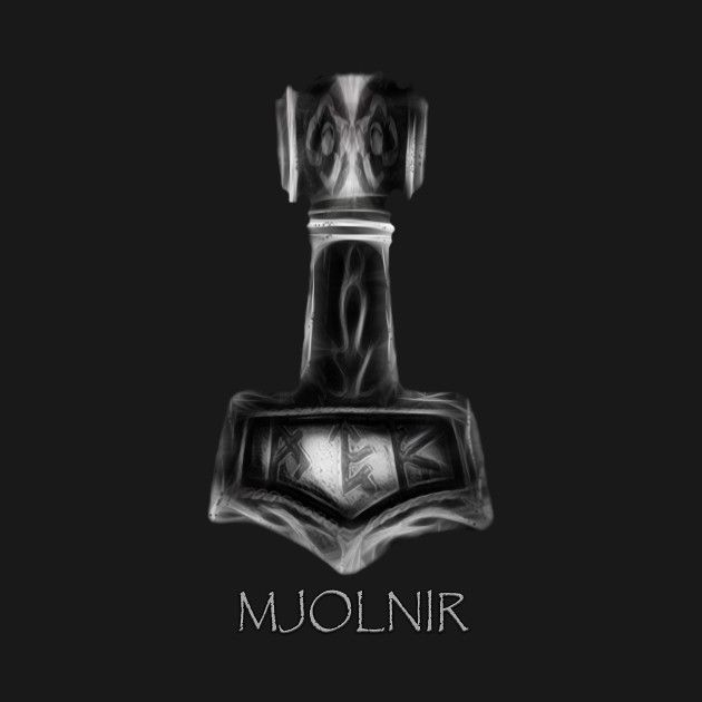 Check Out This Awesome Mjolnir Thor 27s Hammer Design On