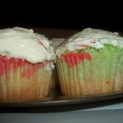 Tie-Dye Fruity Cupcakes Allrecipes.com | DESERTS | Pinterest | Fruity ...