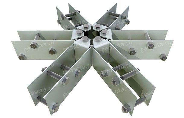 Коннекторы 2.7 — Геосота (универсальный геодезический купол)