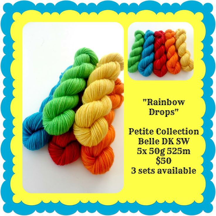 Rainbow Drops Petite Collection | Red Riding Hood Yarns