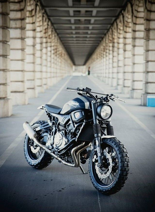 Yamaha XSR 700 Super 7 Scrambler By JvB Moto C Gotz Goppert
