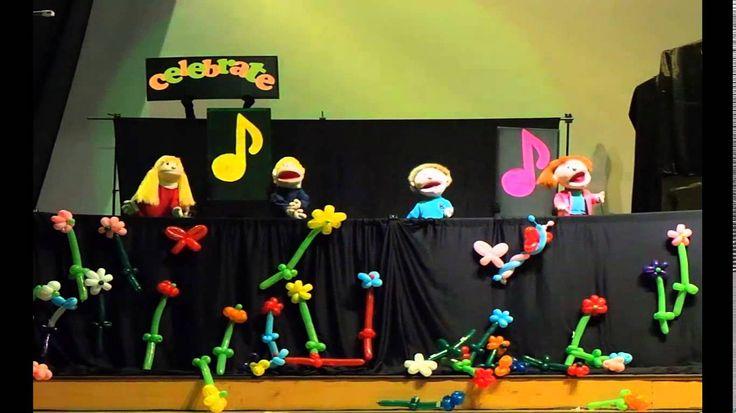 YES Puppet Ministry GKI Gading Serpong - Celebrate Jesus Celebrate!