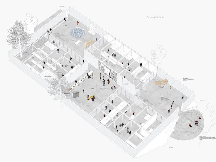 Extension de l'ecole d'architecture, NP2F | BETA
