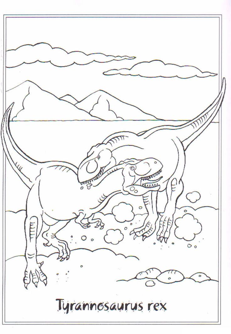 cool dinosaur coloring pages - photo#28