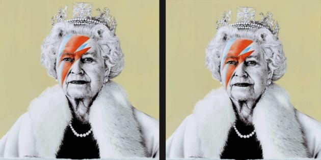 Artbelow Presents Contemporary Alternative Portraits Of The Queen At 90