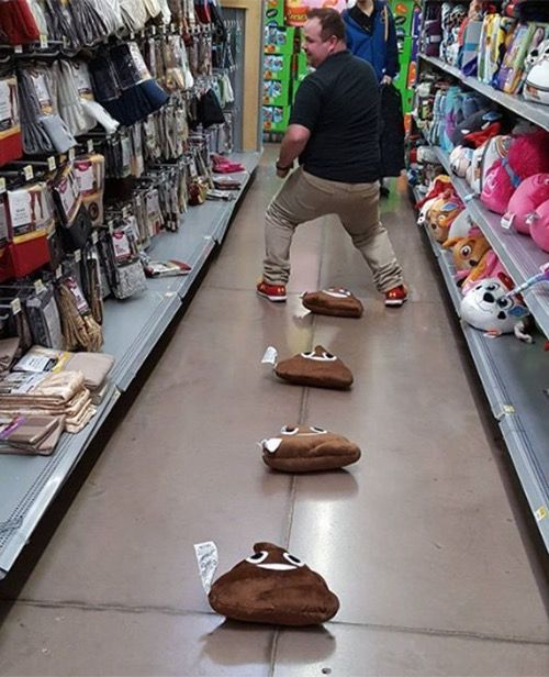 Cleanup On Aisle Four. Poop at Walmart - Funny Pictures at Walmart http://ibeebz.com