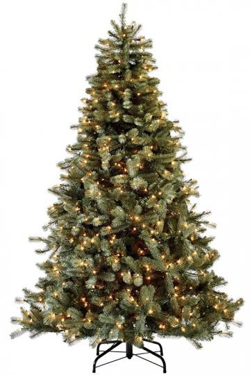 Martha Stewart Living™ Lakewood Blue Spruce Pre-Lit Artificial Tree