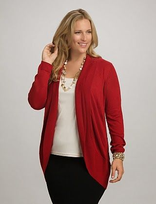New & Fashionable Sweaters For Plus Size Women By Dress Barn From 2015