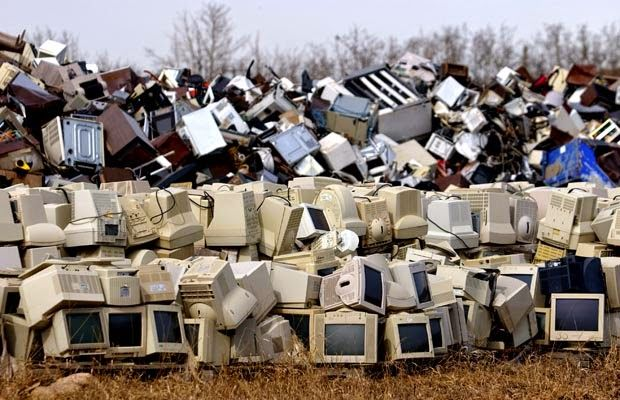the new hazardous waste electronic waste essay Pcs and smartphones adding to 'e-waste mountain exporting hazardous waste from eu and world's mountain of electrical waste reaches new peak.