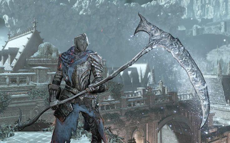 Image result for ice scythe dark souls 3