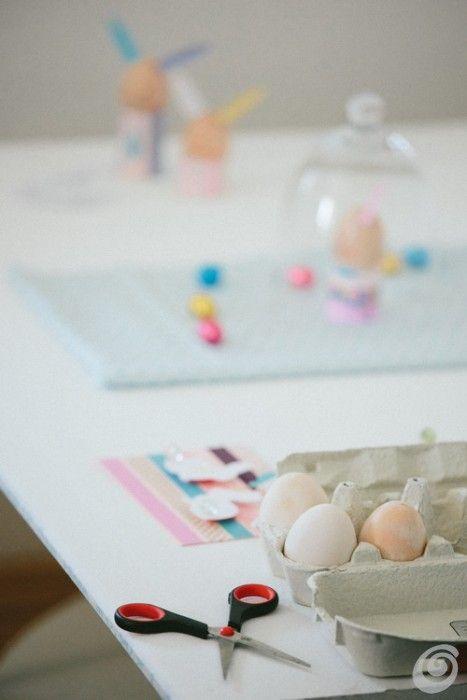 Idee fai da te :: Uova pasquali con il nastro washi