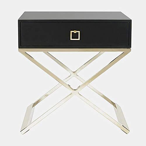 Best Rectangular End Table With X Shaped Legs Metal End Table 400 x 300