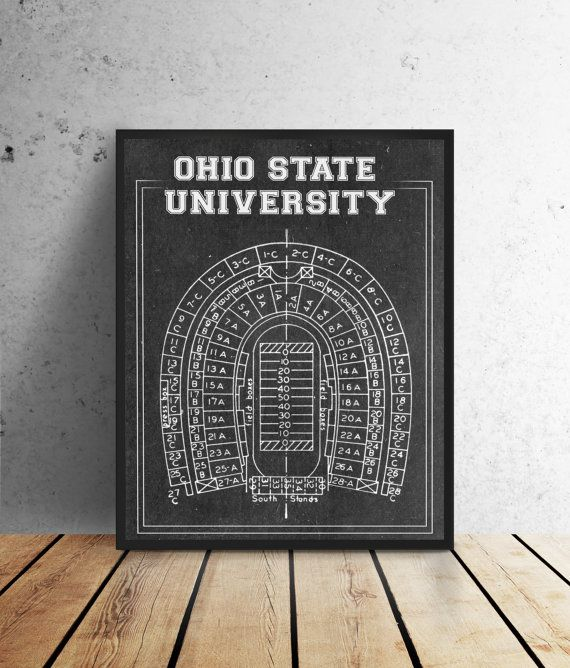 Hey i found this really awesome etsy listing at httpsetsy hey i found this really awesome etsy listing at httpsetsylisting217981822ohio state field college football osu pinterest college malvernweather Images