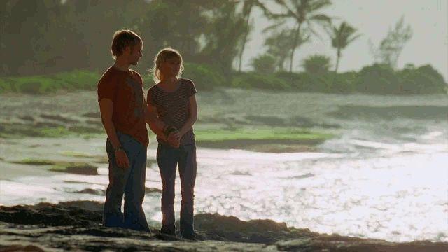 """Charlie Pace + Beach Scenery """